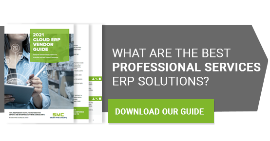 Professional services ERP Guide CTA