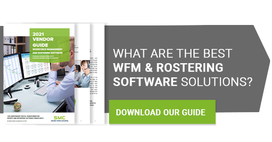 WFM and Rostering Guide CTA