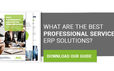 2021 Professional Services ERP Vendor Guide Now Available
